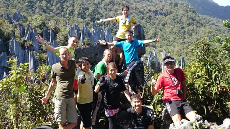 2014 世界遺產 Mulu Pinnacle 体验之旅! :)